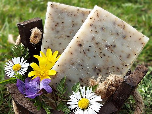 Svěží mátové olivové mýdlo