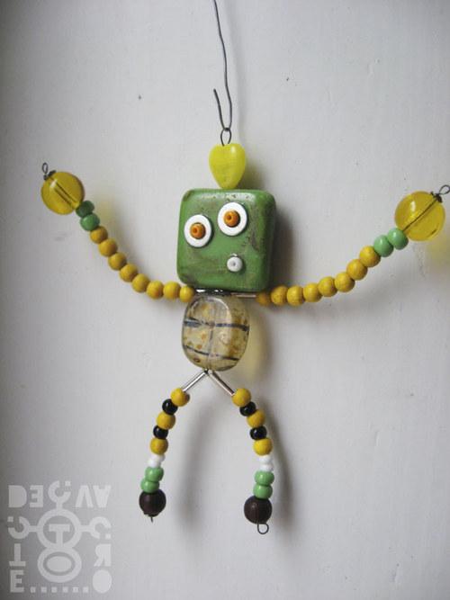 Korálkový robot, model 07-03, (Pan Přepestrý)