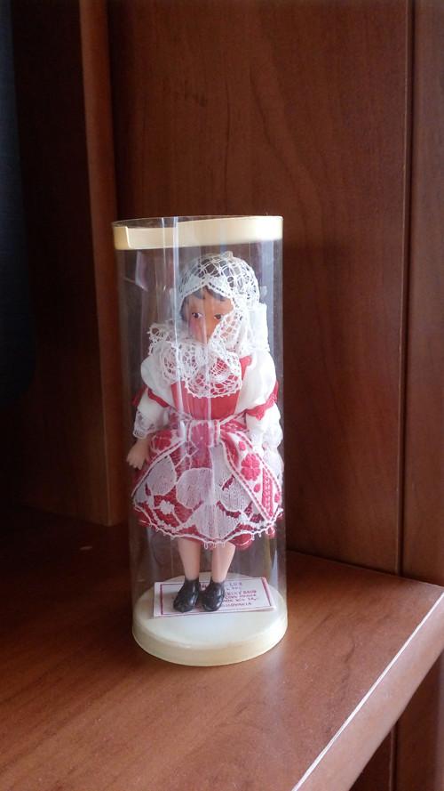 Malá panenka v Plzeňském kroji