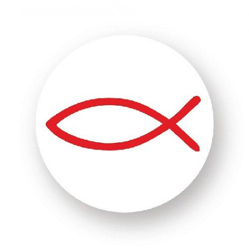 Placka s rybkou - červená