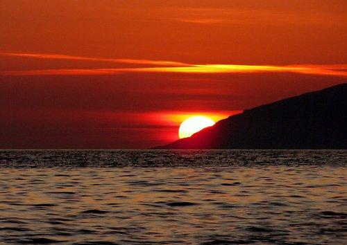 Západ Slunce..