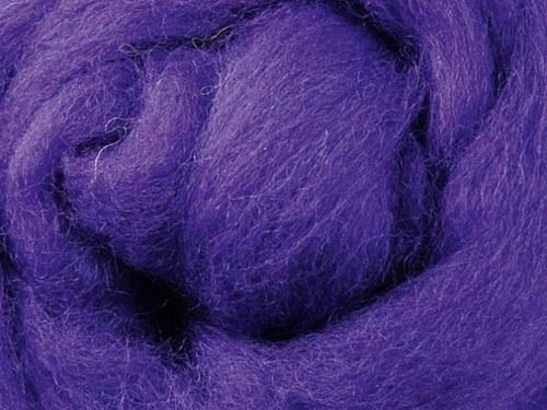 Česanec Merino Purple 20 g