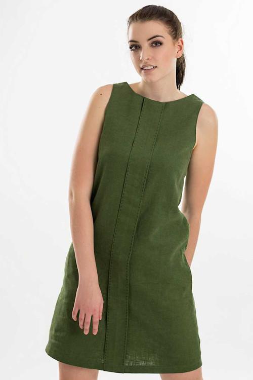 Šaty NINA -  lněné