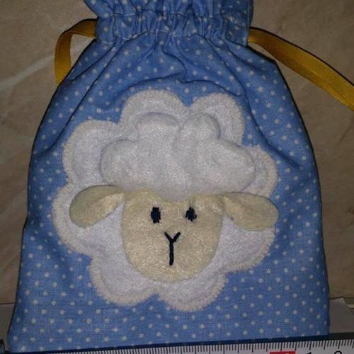 Velikonoční pytlík - ovečka