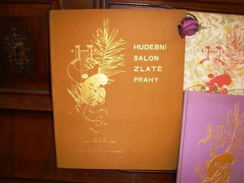 Klavír - Hudební Salon Zlaté Prahy 1903 /noty/