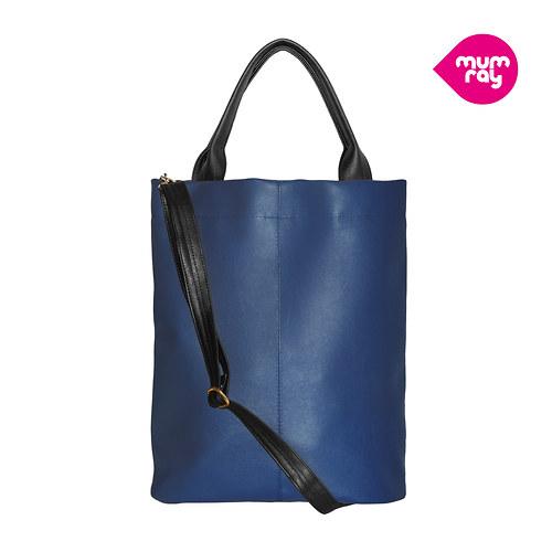Plain bag blue