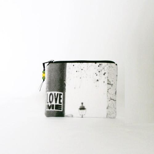 "Textilní pouzdo \""LOVE ME\"" II"