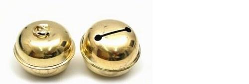 Rolnička 2,5 cm zlatá