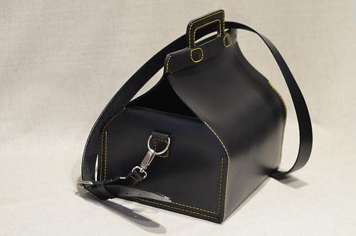 Dámská kabelka - svačinovka L s vnitřní kapsou