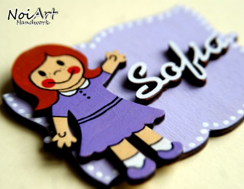 Jmenovka pro děvčátko 3