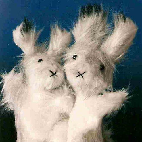 Stříbrný králíček