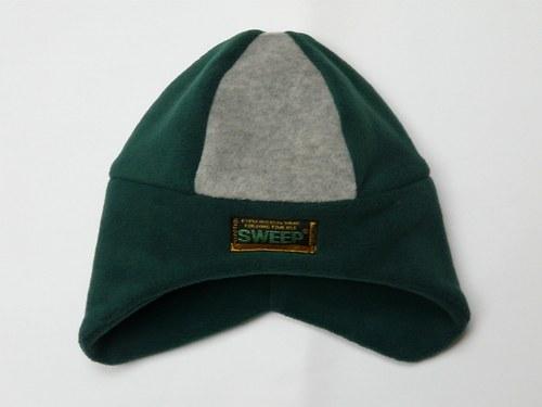 Čepice zeleno - šedá, OH-50cm