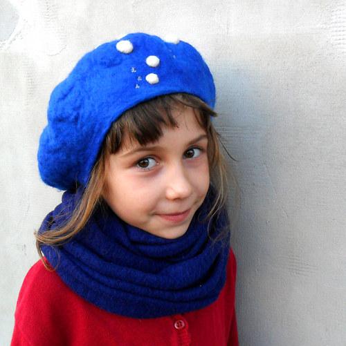 Dětská baretka s bublinkami