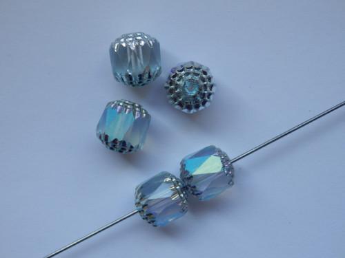 Bols perle 10mm světle tyrkysová cassiopeia