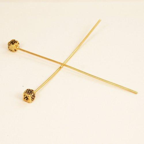 Ozdobné ketlovací nýty- kostičky,2 ks N09