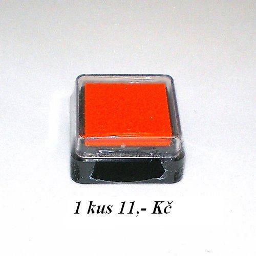 Razítkovací polštářek oranžová MRP10