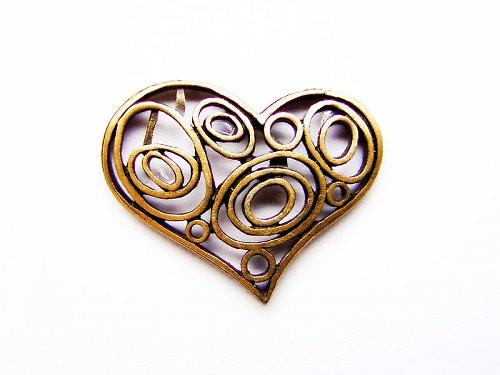 Srdce krajkové ((O108))