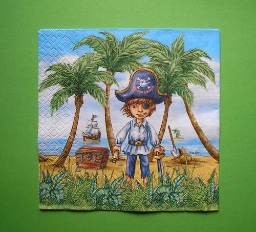 Pirát na pláži