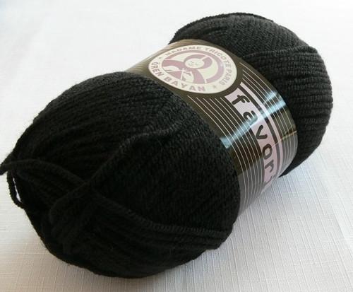 FAVORI barva  999 černá