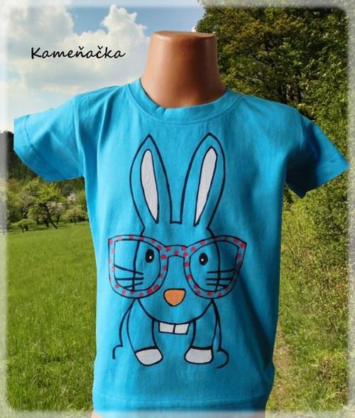 tričko - králíček