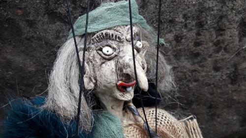 Keramická  čarodějnice