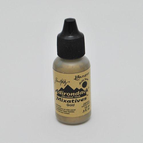 Inkoust  - mixativ / zlatý
