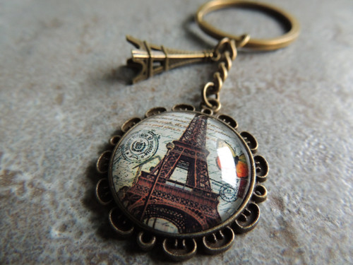 Klíčenka Paříž - Eiffelka
