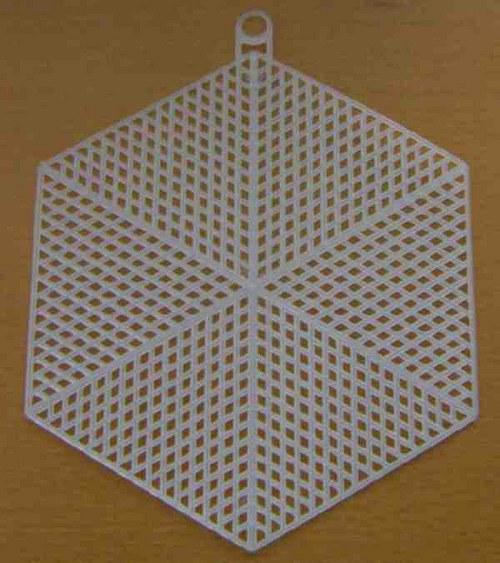 Plastová kanava - šestihran 13cm