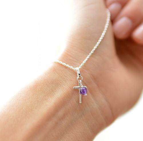 věřím.. Ag náhrdelník