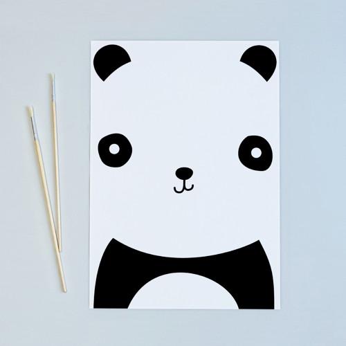 Dětský plakát Panda