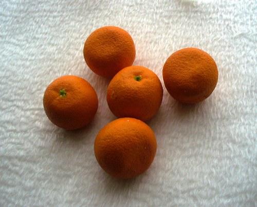 mandarinky na aranžovanie