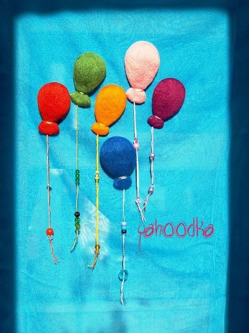 Balonky plují vzduchem 6 ks