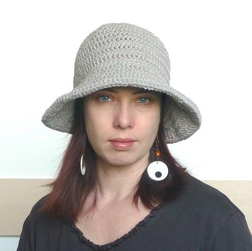 letně světle - klobouk do kapsy