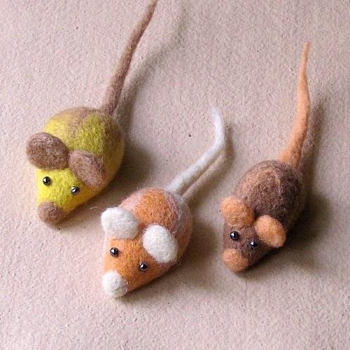 Plstená myška V.
