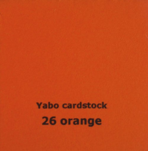 Čtvrtka Yabo - Orange