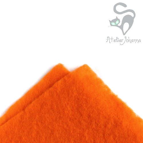 Prefelt oranžová