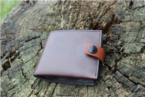 Pánská peněženka čokoládově hnědá