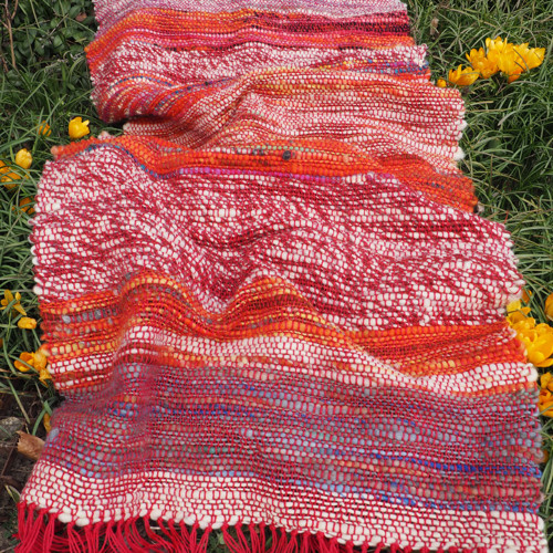Bohém -  ručně tkaný vlněný koberec