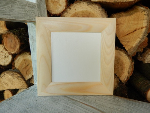 Rám dřevěná lišta 3 cm 12 x 12 cm