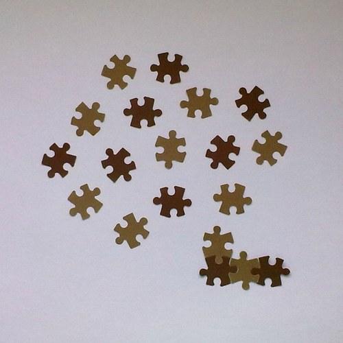 Výsek - Puzzle (menší) - 15ks