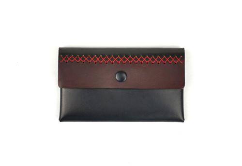 Elegantní kožená uzavíratelná peněženka