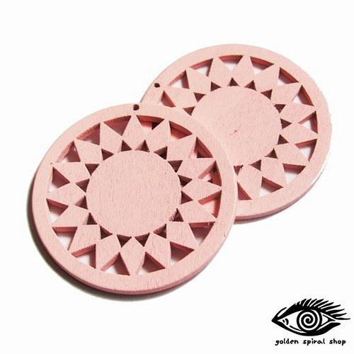 Dřevěné kruhy - 2 kusy