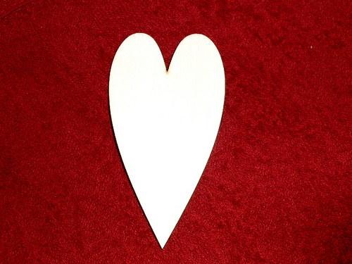 2D výřez srdce v.7xcm