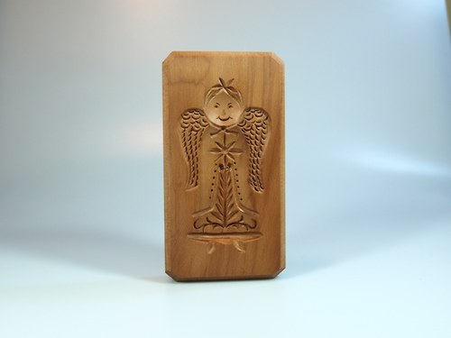 andílek-dřevěná forma