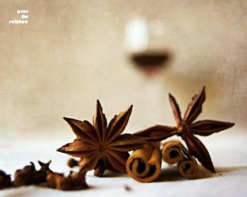 Svařené víno III - autorská fotografie, Giclée