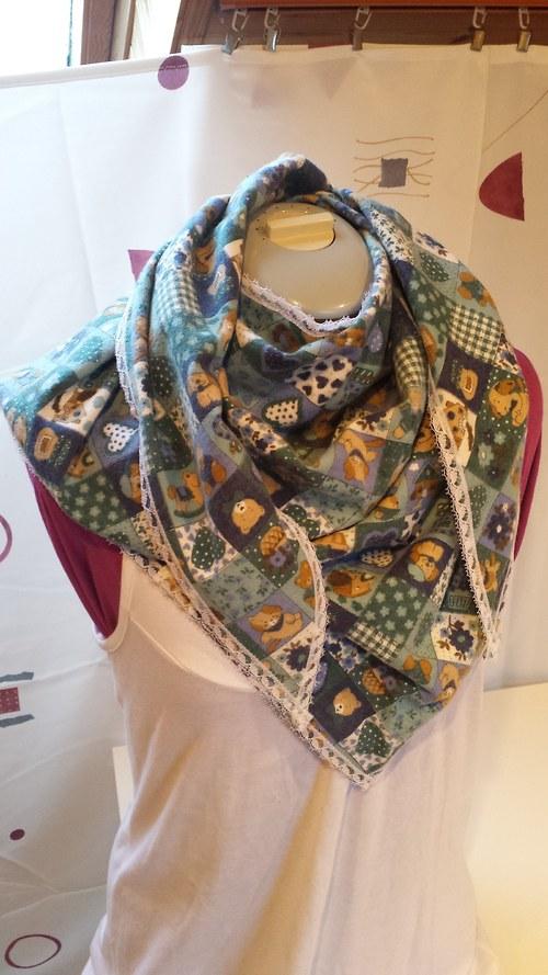 flanelová šátek