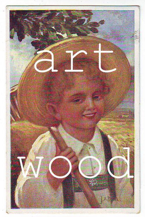 Dobová pohlednice - PORTRÉT CHLAPCE č. 399