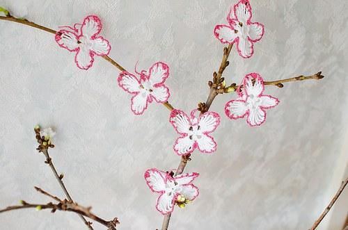 Poslové jara - sada 6 motýlků