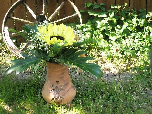 Váza s africkými motivy