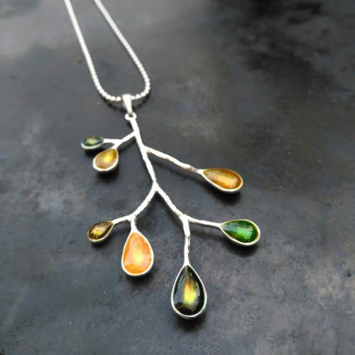 Přívěsek Větvička zelená (větší)